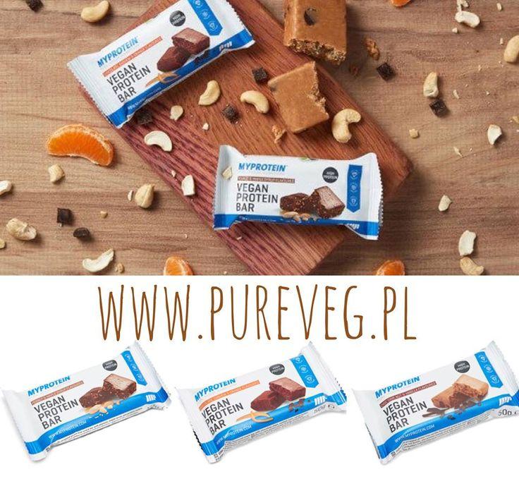 Białko dla wegan w pysznej postaci. #Wegańskie batony opracowane przez żywieniowców sportowych, 3 smaki na www.pureveg.pl   #pureveg #sklepweganski #weganskiebatony #batonywysokoproteinowe #proteinowe