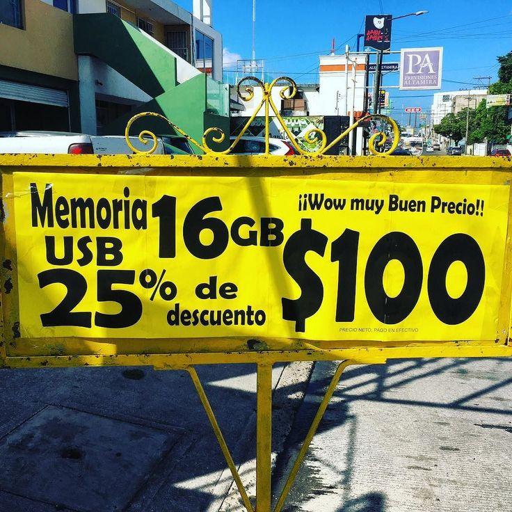 Nosotros no te firmamos ante notario ni ofrecemos pagos chiquitos pero si ofertas inigualables.  No vas a encontrar mejor precio en USBs como el que te da #SERCCOM en su promoción del mes. Visítanos!  #Tampico #Madero #Altamira #Tecnologia