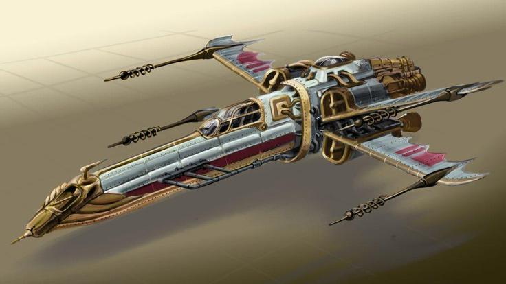 Star Wars Steampunk Ship Star Wars Pinterest Steampunk