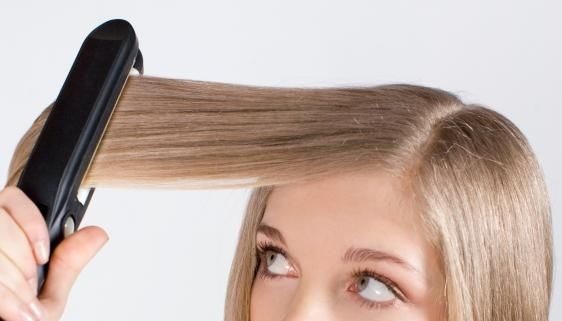 how to flat iron hair - 7 mistakes to avoid