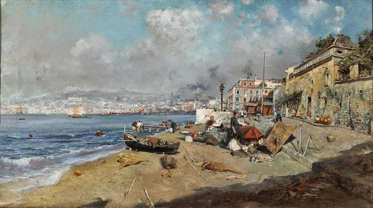 Attilio Pratella | Landscape/Genre painter | Tutt'Art@ | Pittura * Scultura * Poesia * Musica |