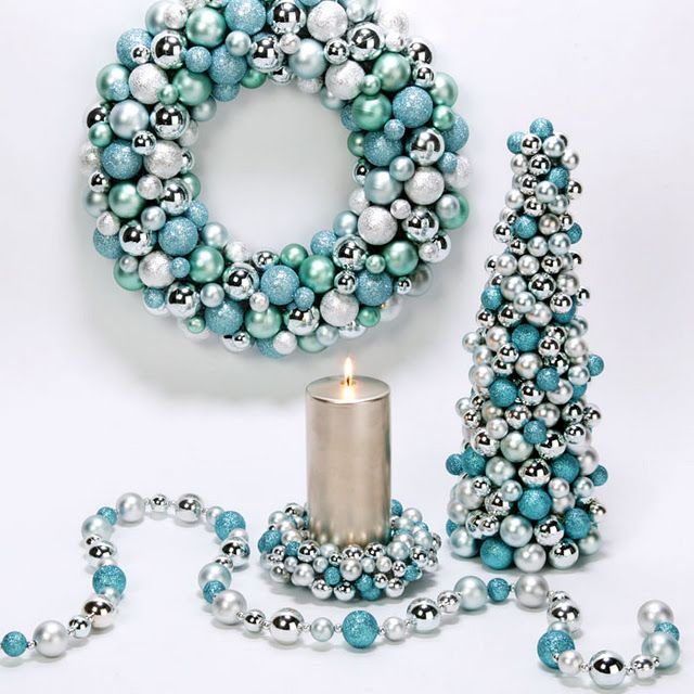 118 best TURQUOISE CHRISTMAS images on Pinterest | Christmas ideas ...