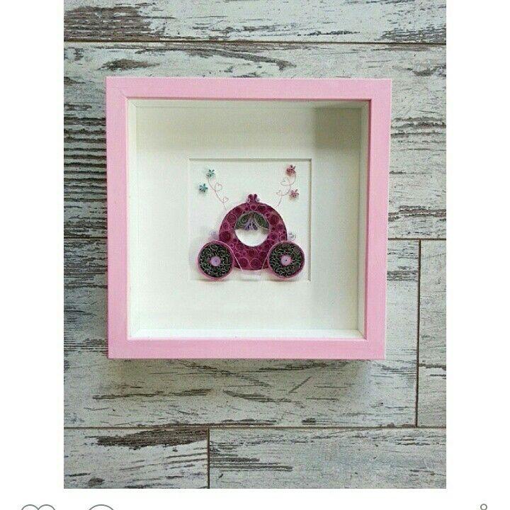 Instagram : handesanat  Facebook : handesanat  Quilling  Princess