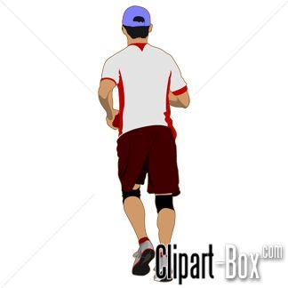 CLIPART MAN JOGGING | CLIPARTS | Pinterest