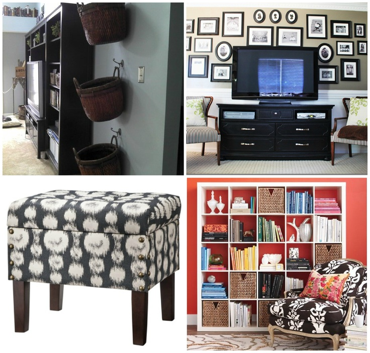 The 17+ best images about Living Room/ Family Room Organization ...