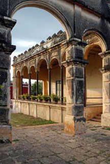 Antigua hacienda en Yucatán.