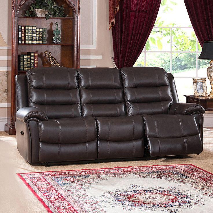 Astoria Leather Reclining Sofa & Best 25+ Leather reclining sofa ideas on Pinterest | Power ... islam-shia.org