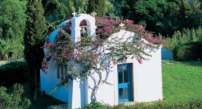 Ag. Athanasios, our own private chapel will transform your special occasion into a 5 star experience. Create an exclusive and one life time event #wedding #ceremony #marriage #chapel #luxury #baptism #bride #groom #weddingplanner #weddingplanning #weddingingreece #greece #crete #agia #aghia #pelagia