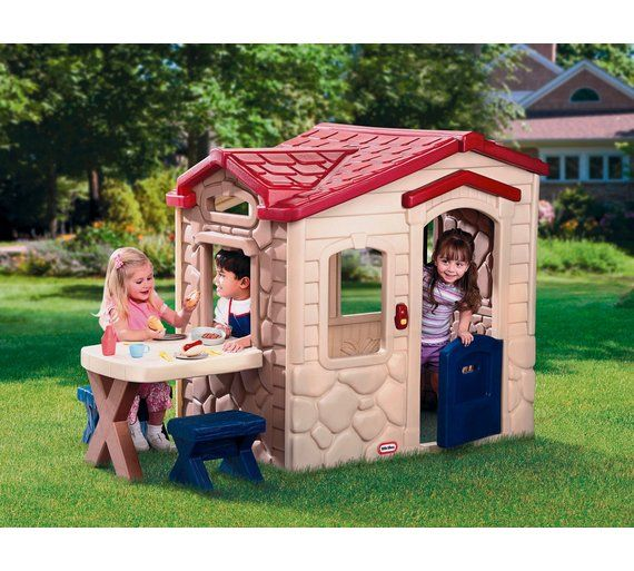 Buy Little Tikes Picnic on the Patio Playhouse at Argos.co.uk - Your Online Shop for Playhouses, Playhouses and activity centres, Outdoor toys, Toys.