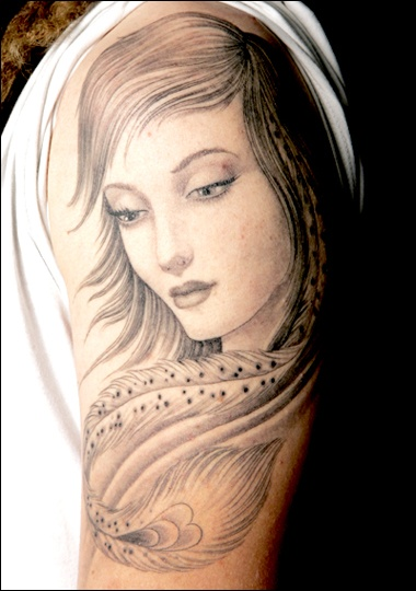 Another beautiful tatto by Chris Garver