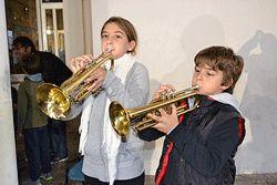 L'Escola Municipal de Música Montserrat Almirall ofereix tastets musicals (Santa Cecília 2013)