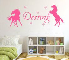 17 best images about kamer zo on pinterest vinyls vinyl decals and sticker vinyl - Kamer paard meisje ...