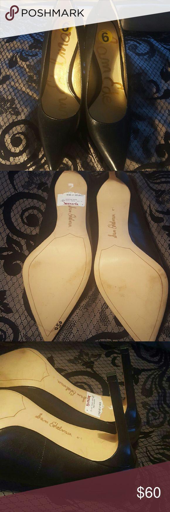 Size 9 Sam Edelman Heels Only worn once Sam Edelman Shoes Heels