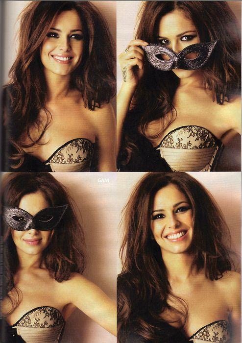 Cute partial boudoir photos - masquerade masks for an interesting visual detail.