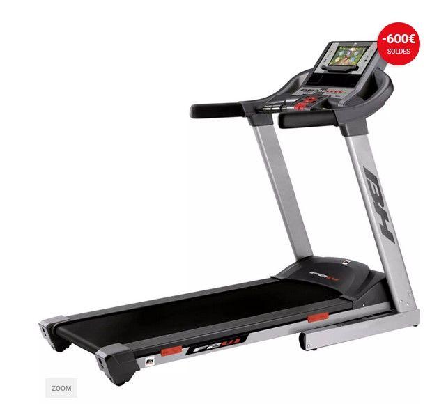 tapis de course fitness bh f2w tft pas