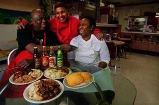 Elaine's Kitchen - Jamaican restaurant in Dallas - jerk chicken, oxtails, cabbage, peas & rice and so much much more.