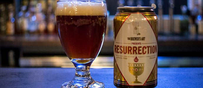 Super Bowl Beer Review: Brewer's Art Resurrection Ale vs. 21st Amendment Monk's Blood - Drink Baltimore - The Best Happy Hours, Drinks & Bars in Baltimore