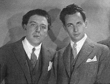 André Breton et Louis Aragon