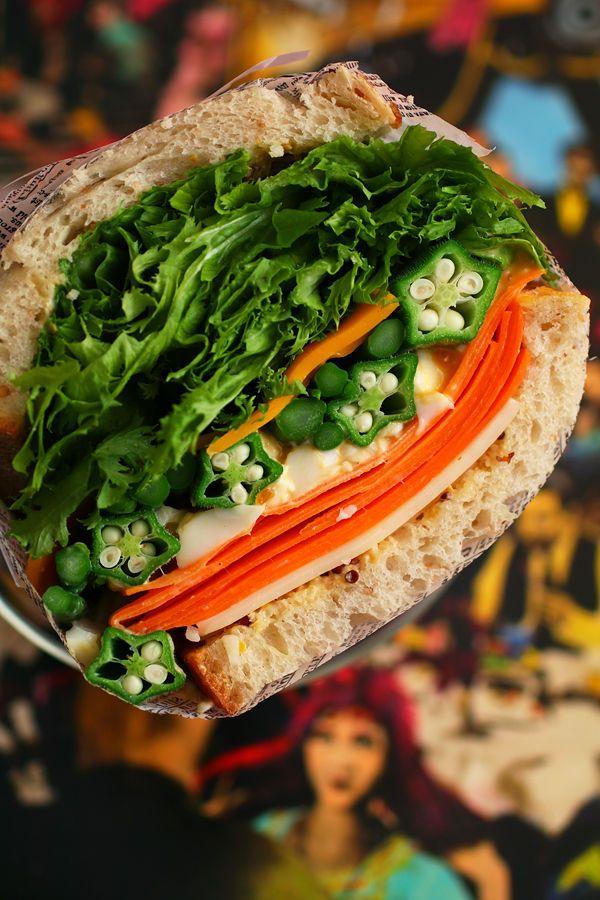 パツパツサンド:野菜(トップ)