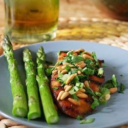 Balsamic Chicken with Pinenuts, by Ingredients Inc.