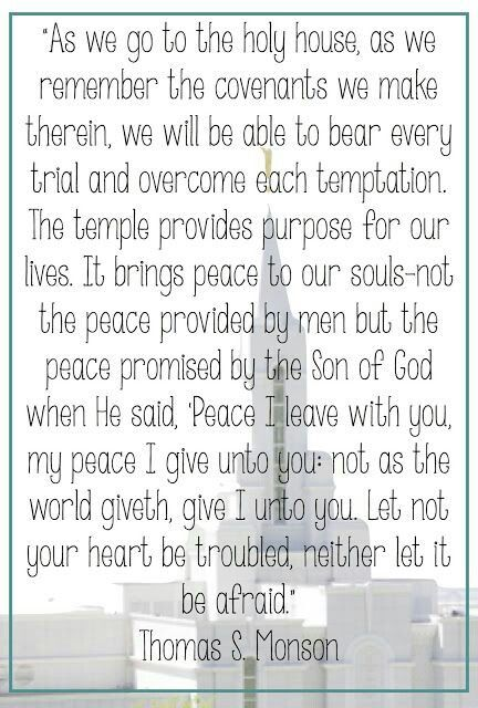 """Let not your heart be troubled, neither let it be afraid"" #LDS"