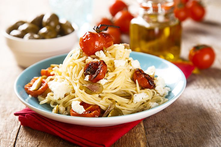 Домашняя паста с запеченными помидорами и хитрый прием от итальянского шефа - Home is in the kitchen