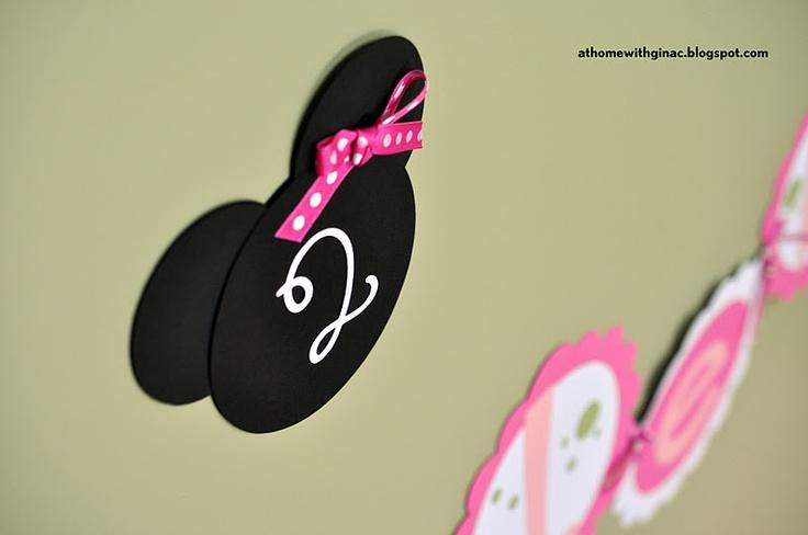Minnie Heads for decor