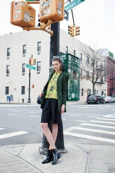 La pepas – Coleccion otoño invierno 2015 falda y saco