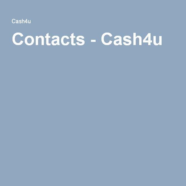 Contacts - Cash4u http://www.cash4u.nz/