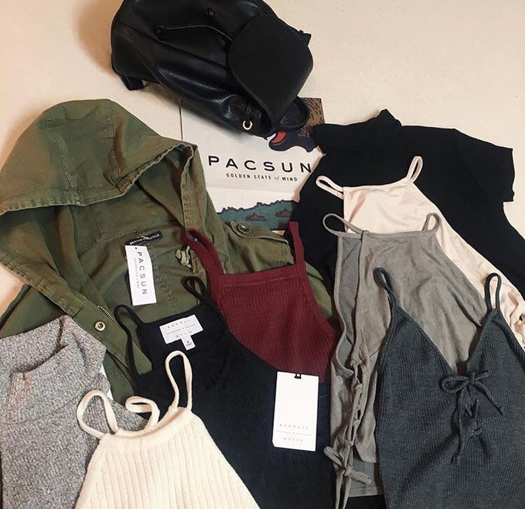Pacsun, I have a lot of things from here