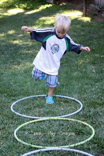 27 best kids hula hoop games images on pinterest gross for Gross motor skills games