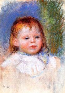 Portrait of Jean Renoir - (Pierre-Auguste Renoir)