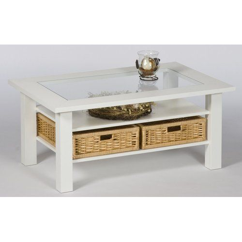 Amityville Coffee Table With Storage Beachcrest Home