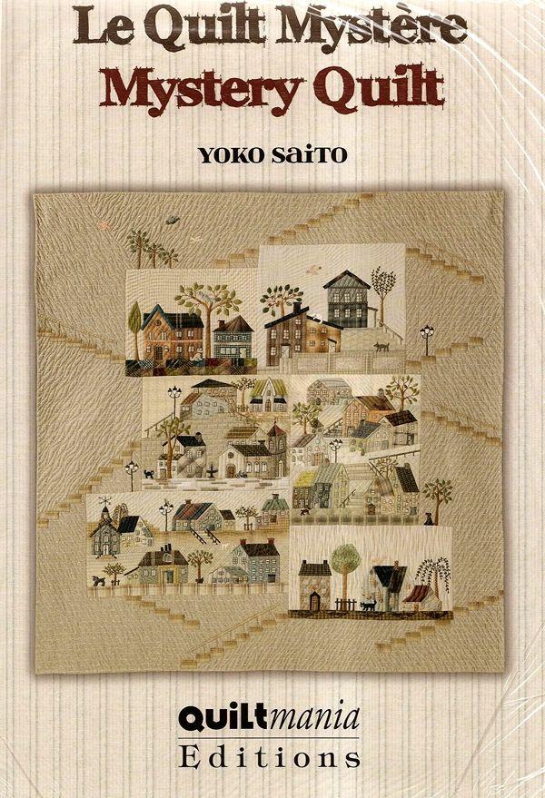 One World Fabrics: Shop | Category: Japanese Craft/Quilting Books | Product: Yoko Saito Mystery Quilt Pattern Set