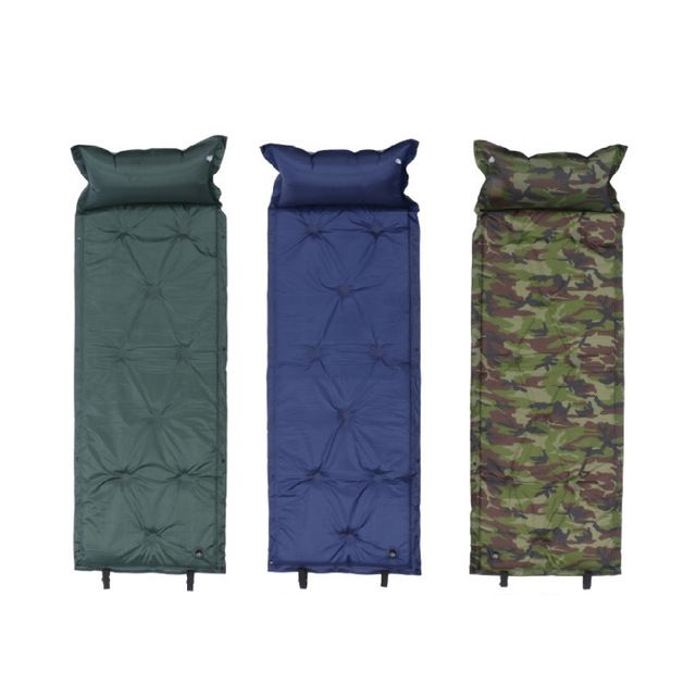 Outdoor Camping Mat Picnic Mat Inflatable Mattress Self Inflating Cshion Piknik Sleeping Pad Bed Camping Pad Equip Camping Sleeping Pad Camping Pad Camping Mat