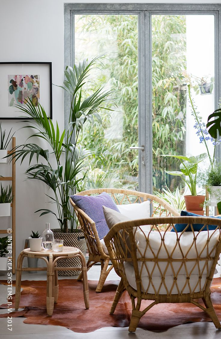 153 best On commence à sentir le printemps images on Pinterest - Fauteuil Salon Ikea