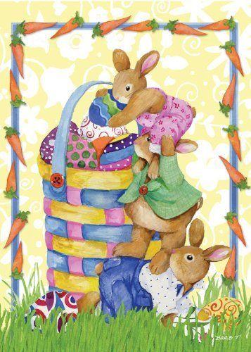 Bunnystack Garden Flag by Toland Home Garden. Save 73 Off!. $7.99. Toland Flags are UV, Mildew, and Fade Resistant. Toland Flags are made from durable 600 denier polyester. Heat sublimated process permanently dyes flag fabric for long-lasting color. Decorative Art Flag. All Toland Flags are machine washable. Bunnystack Garden Flag 12-1/2 by 18