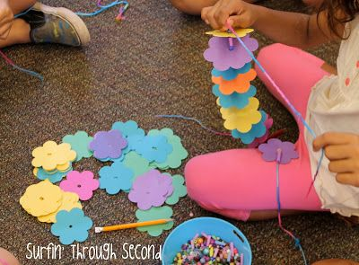 May Day Is Lei Day in Hawaii - How to make a paper lei