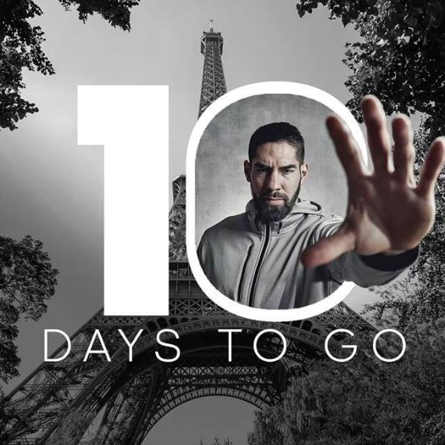 Only 10 days to go for the opening game of the Men's Handball World Championship in France. #BeAheadBeFeared #heretocreate #handballpassion #hndbl #handball