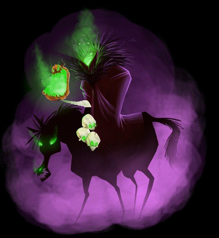 Headless Horseman Sleepy Hollow   Disney's Legend of Sleepy Hollow was one of my favorite movies growing ...