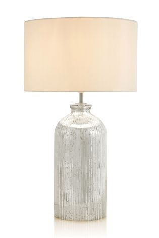 Buy Mercury Glass Table Lamp from the Next UK online shop