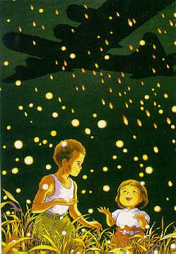 Grave of the fireflies - Sad but worth watching. (This not an easy movie to watch but like the piner before me says it's worth watching.)