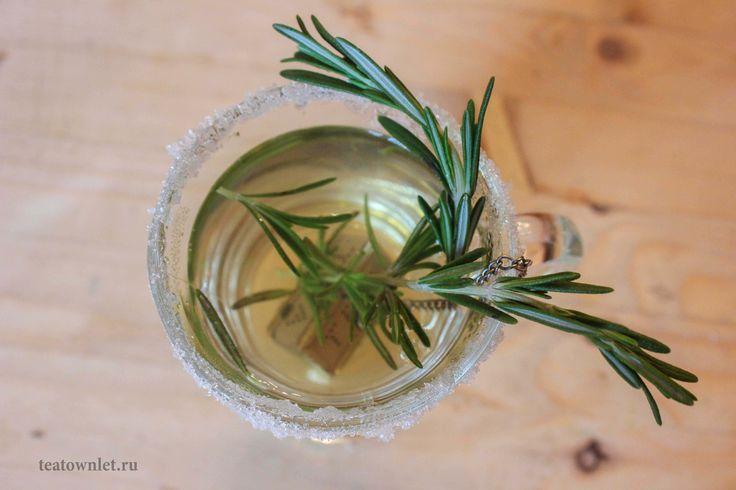 Розмарин отлично дополняет вкус зеленого японского чая Сенча. #Сенча #Чай #ЧайныйГородок #Розмарин