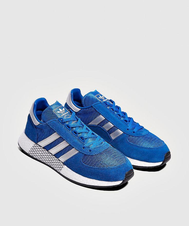 adidas MARATHON x i5923 SNEAKER BLUE/SILVER/ROYAL
