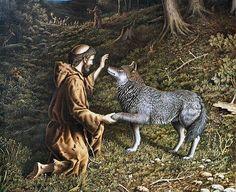 Los motivos del lobo, de Rubén Darío, por mi onomástica