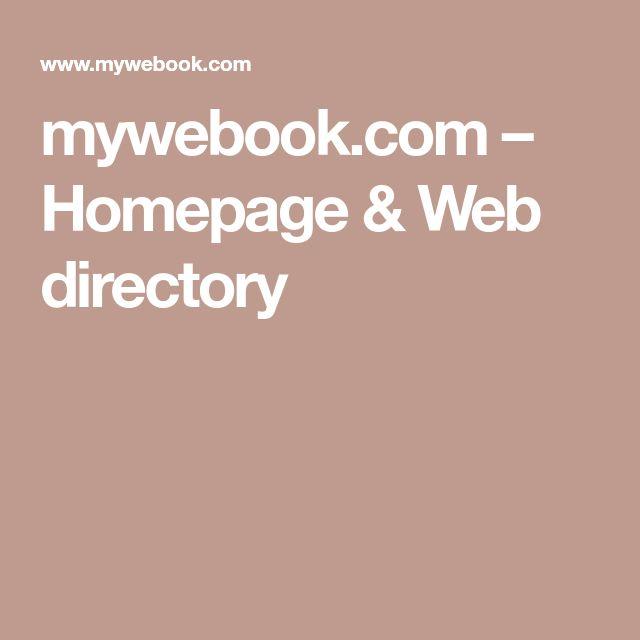 mywebook.com – Homepage & Web directory