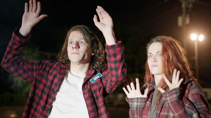 If Jason Bourne's hazy memory was the result of too much weed smoking, we might end up with something like American Ultra , a new stoner thriller starring Jesse Eisenberg and Kristen Stewart.
