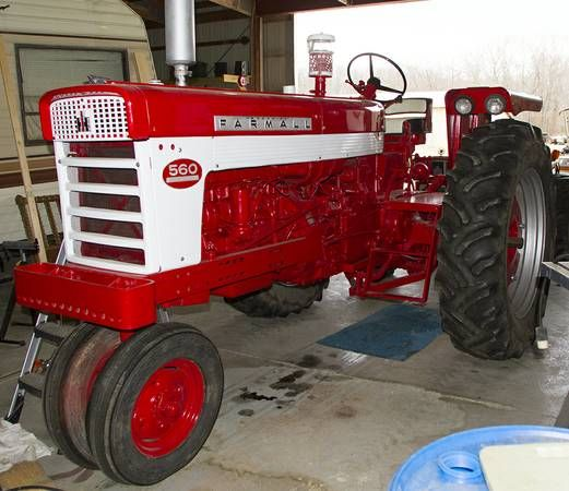 Ih 560 Tractor Power Steering : Best images about son s farmall on pinterest