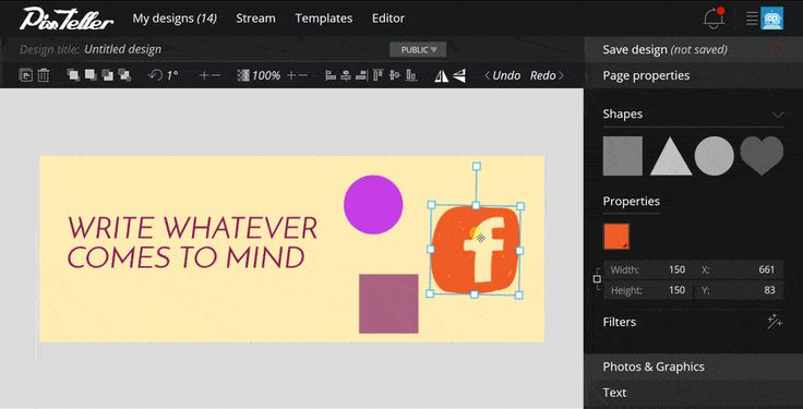 How to use #radial #gradient #colors on your @PixTeller #designs.