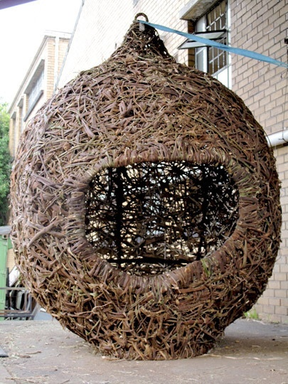Real-Life Human Nests by Animal Farm | Nature Craft | Nest ...